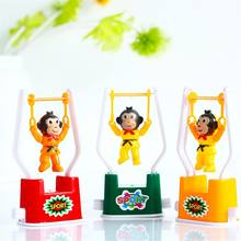 Funny Cartoon New Wind Up Toy Creative Special Monkey Animal Artistic Gymnastics Toy Children Kids Gifts for Newborn Baby(China)