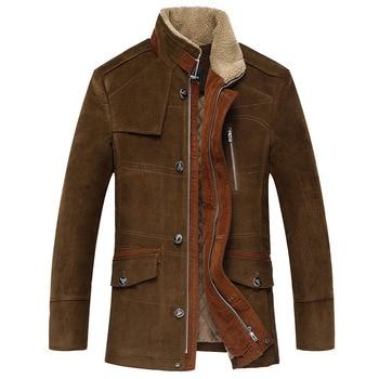 Winter thicken Classic coats men Business Jacket high quality woolen casual trench coat men,men's Windbreaker,size M to 6XL,7XL