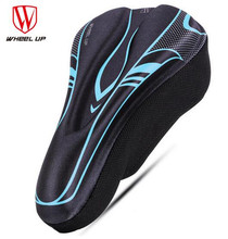 WHEEL UP Bicycle Silicone Front Saddle Cover MTB Mountain Road Bike Soft Comfortable GEL Pads Parts