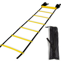 6M 12 Rung Agility Ladder Speed Ladders Soccer Team Football Speed Agility Training Sports Workout Equipment With Carry Bag