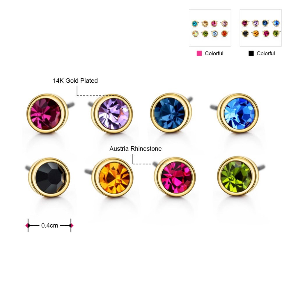 Neoglory Austria Berlian Imitasi Pesona Cahaya Warna Kuning Emas - Perhiasan fashion - Foto 6