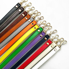 New 120cm Long PU leather Shoulder Bag Strap DIY Handbag Handle Multicolors Handbags Belts Strap for Bag Accessories