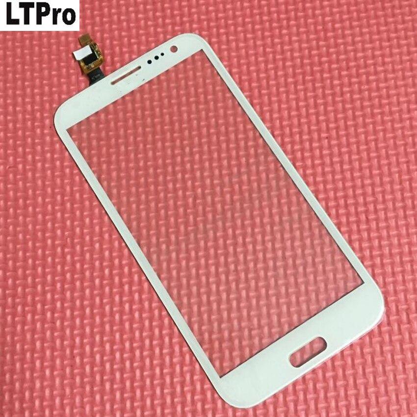 LTPro Noir/Blanc Écran Tactile Digitizer verre panneau Objectif Pour THL W7 W7S W7 + Téléphone Mobile Quad Core 1280*720