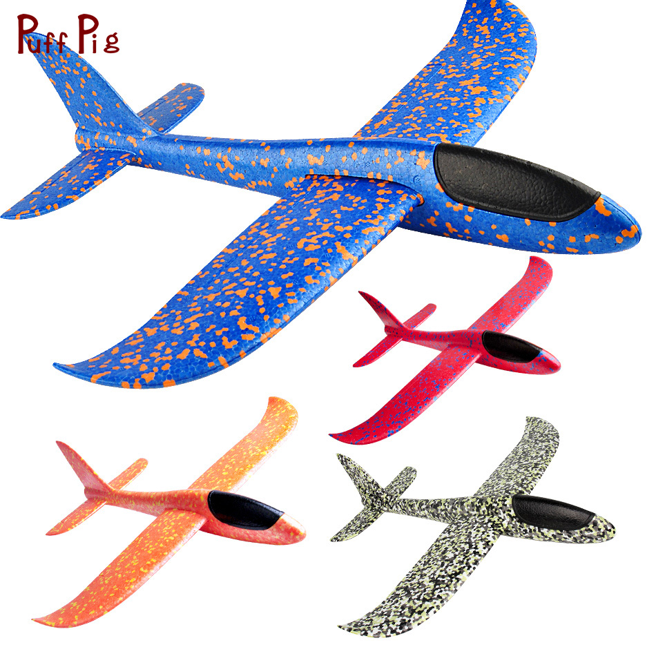 חם גדול קצף מטוס לזרוק דאון מטוס אינרציאליות קצף EPP עף צעצוע מטוס דגם חיצוני כיף ספורט מטוסי צעצוע עבור ילד