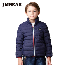 JMBEAR boys down coat winter snow suit kids jacket 5-14 years parka girls kids children's thick warm child outerwear 2016