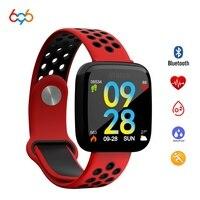 696 colors F15 smart wristband blood pressure monitor smartband big screen era quickly rotate photos sharing smart bracelet