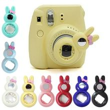 Mooie Konijn Close Up Lens Selfie Zelfportret Spiegel Voor Fujifilm Instax Mini 9/8/8 +/ 7s Instant Film Filters Fotografie Fil