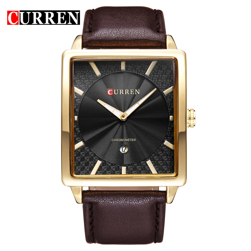 jojo watches promotion shop for promotional jojo watches on curren brand design 2016 new fashion casual leather sport man clock military army business wrist quartz male luxury watch