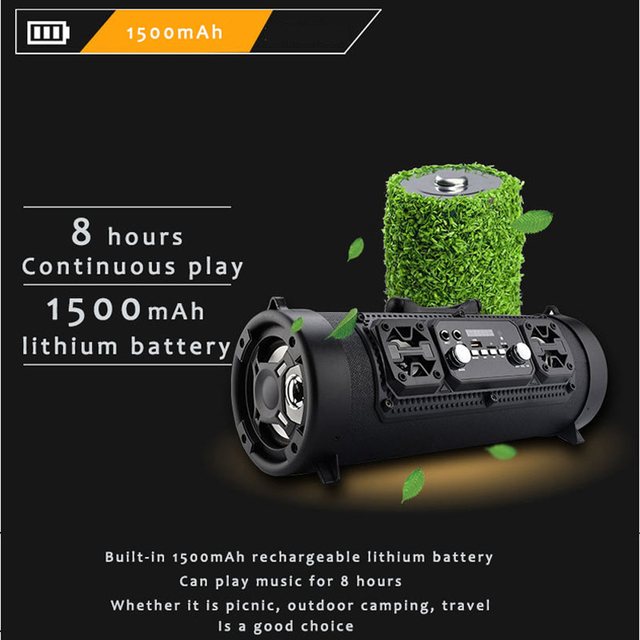 16W Portable Bluetooth Speaker 2