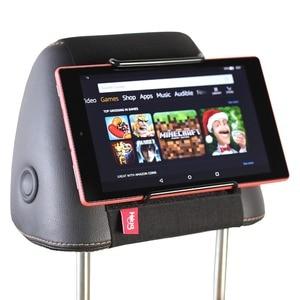 Image 4 - Tylne siedzenie samochodu tabletka zamontować uchwyt na zagłówek dla amazon kindle Fire 7, ogień HD 8, ogień HD 10 dzieci edycja z/bez obudowy