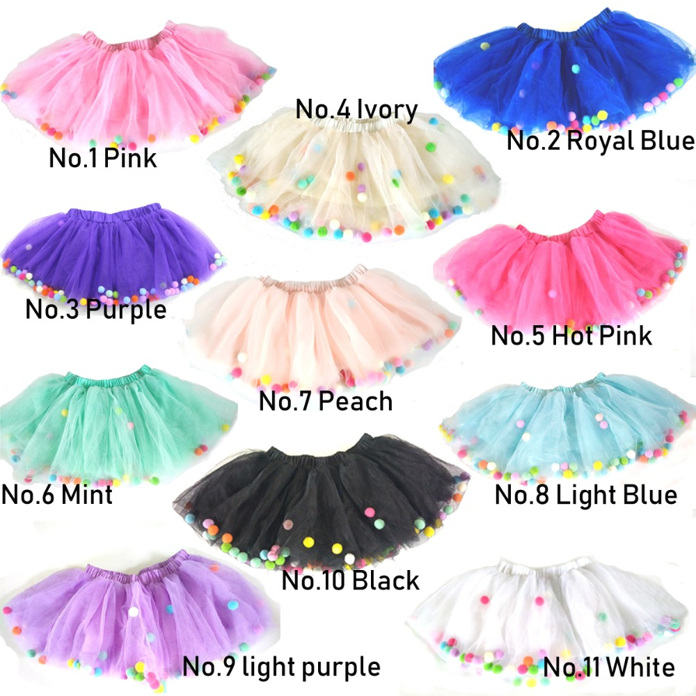 0219c0f41 Detail Feedback Questions about 2018 New Baby Girls Colorful Tutu ...