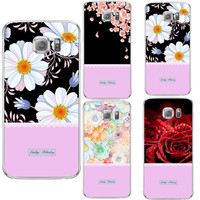 tassel flowers Silicone For Samsung Galaxy S3 S4 S5 S6 S7 Edge S8 Plus A3 A5 J1 mini J3 J5 J7 2015 2016 2017 Grand Prime Case