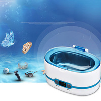 Digital Ultrasonic Cleaner Household Contact Lens Jewelry Cleaning Machine 750ML Professional Ultrasonic Cleaning Machine