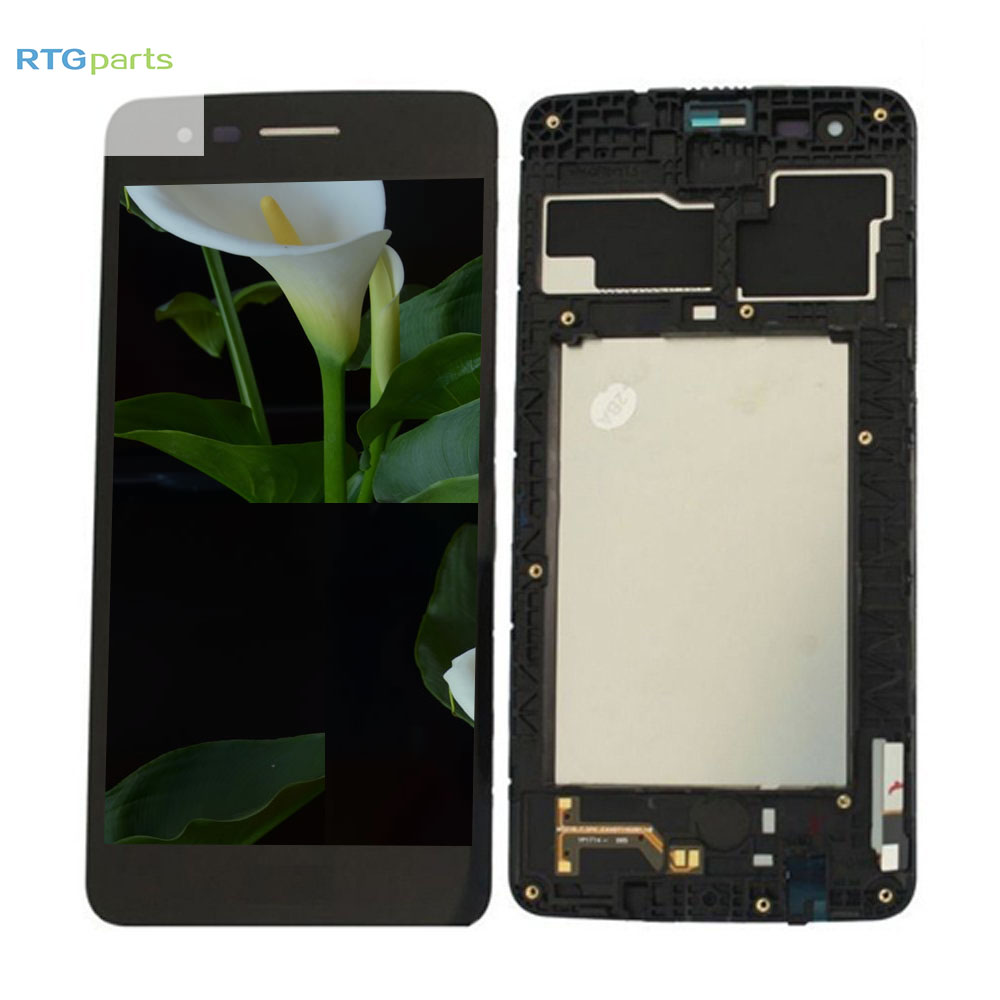 RTGparts LCD Touch Screen Digitizer Assembly with Frame For LG k8 2018 M-X210ULMG, Fortune 2 LM-X210CM K8+ K9RTGparts LCD Touch Screen Digitizer Assembly with Frame For LG k8 2018 M-X210ULMG, Fortune 2 LM-X210CM K8+ K9