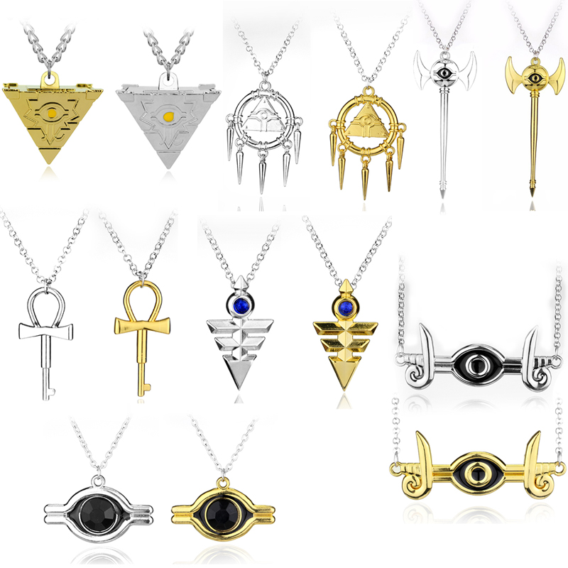 New Millennium Necklace - Yu-gi-oh! Anime Yugioh Millenium Cosplay Pyramid Egyptian Eye Of Horus Necklace ...