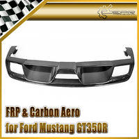Car Styling For Ford 2015 Mustang GT350R Carbon Fiber Rear Diffuser