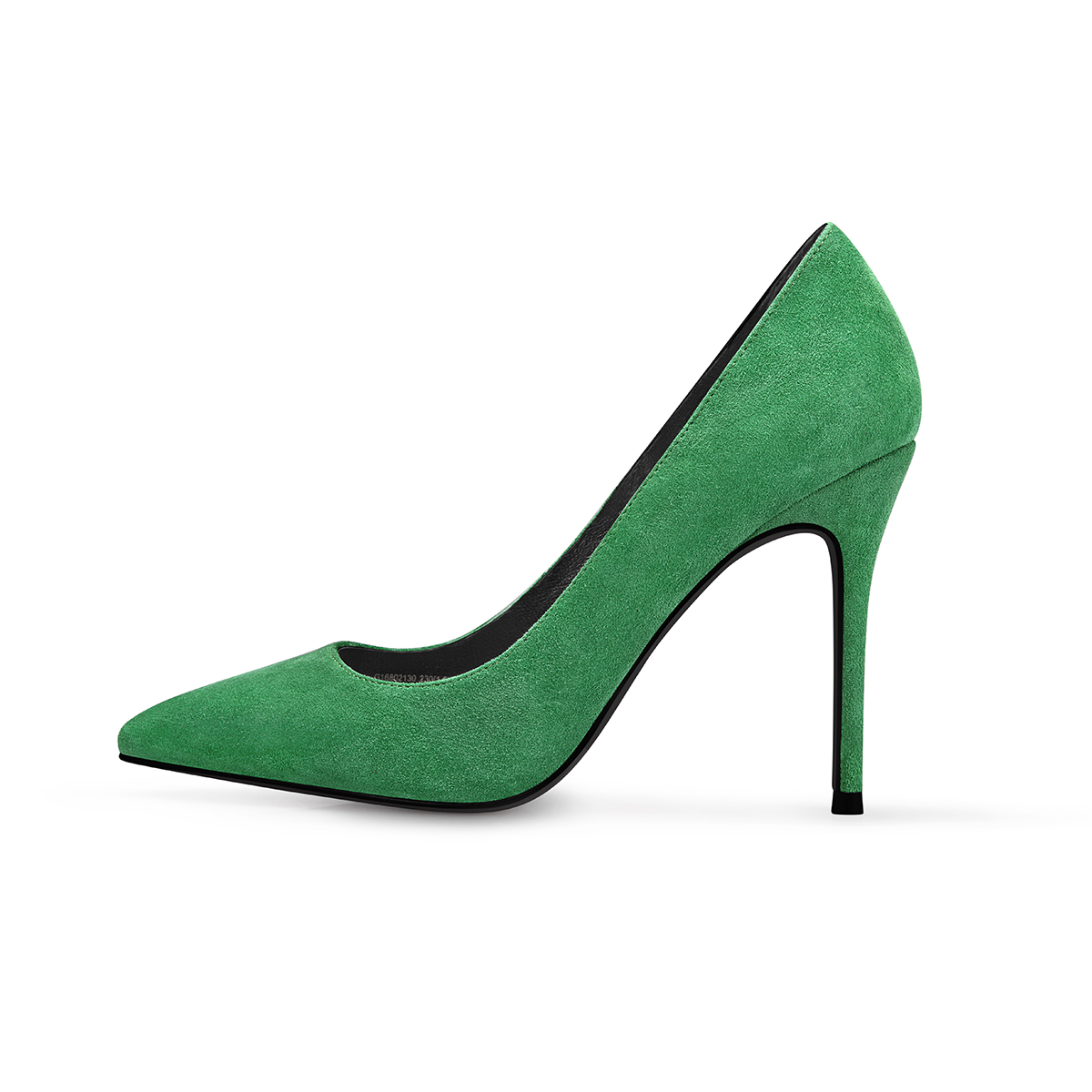 GAOZZE Green Suede Leather Women Sexy Pointed Toe High Heel Shoes Fashion Party Shoes Pumps Women Wedding Shoes 2018 Spring New