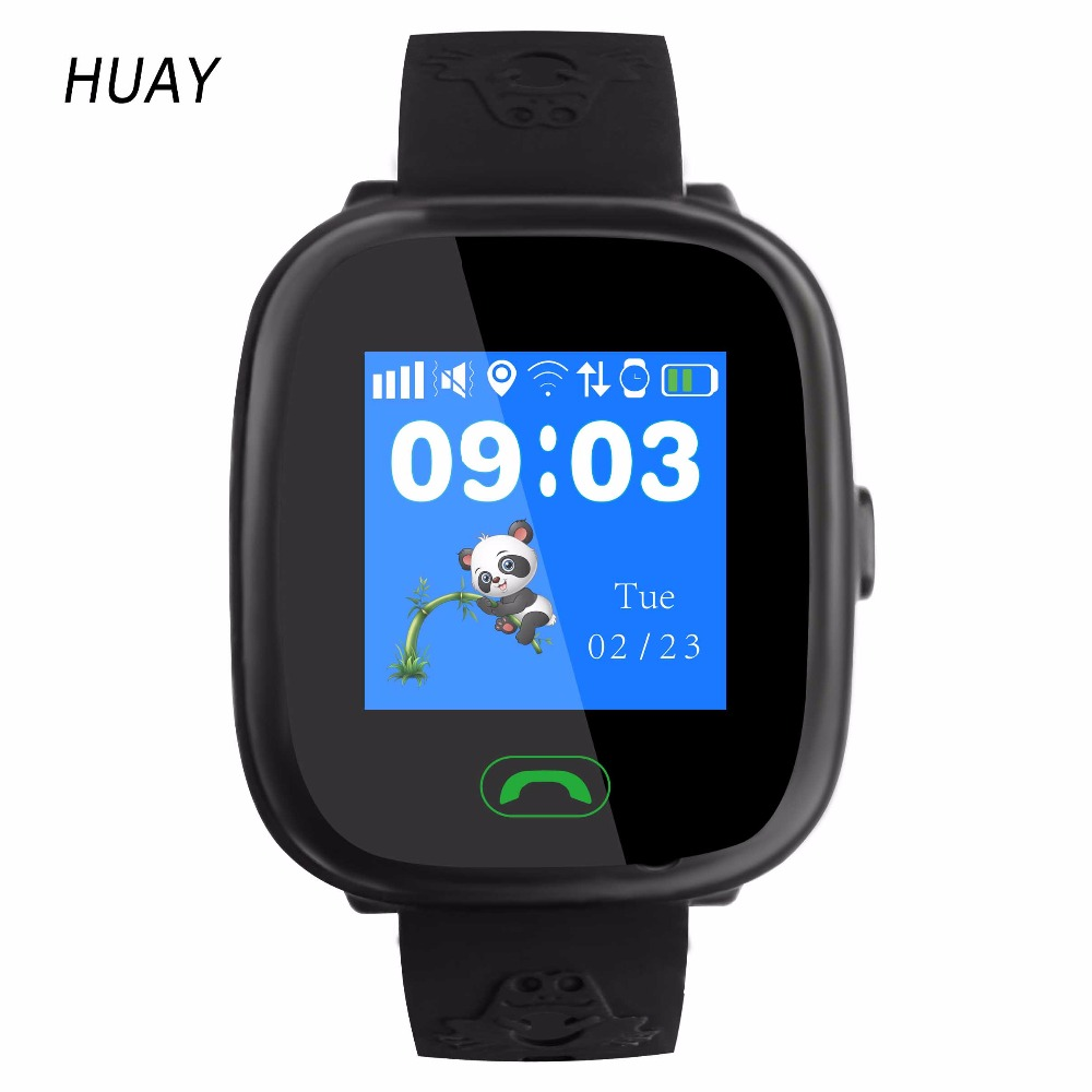 2019 New GPS Tracking Watch For Kids Touch Screen Swimming IP67 Waterproof  Smart SOS Call Finder Location Children Watch HW8S