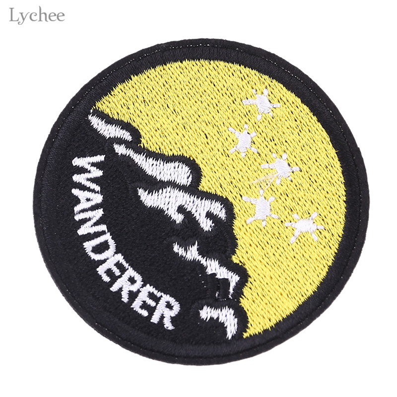 Diy Handmade Embroidered Patch: Lychee DIY Handmade Mountain Patches Badge Embroidered