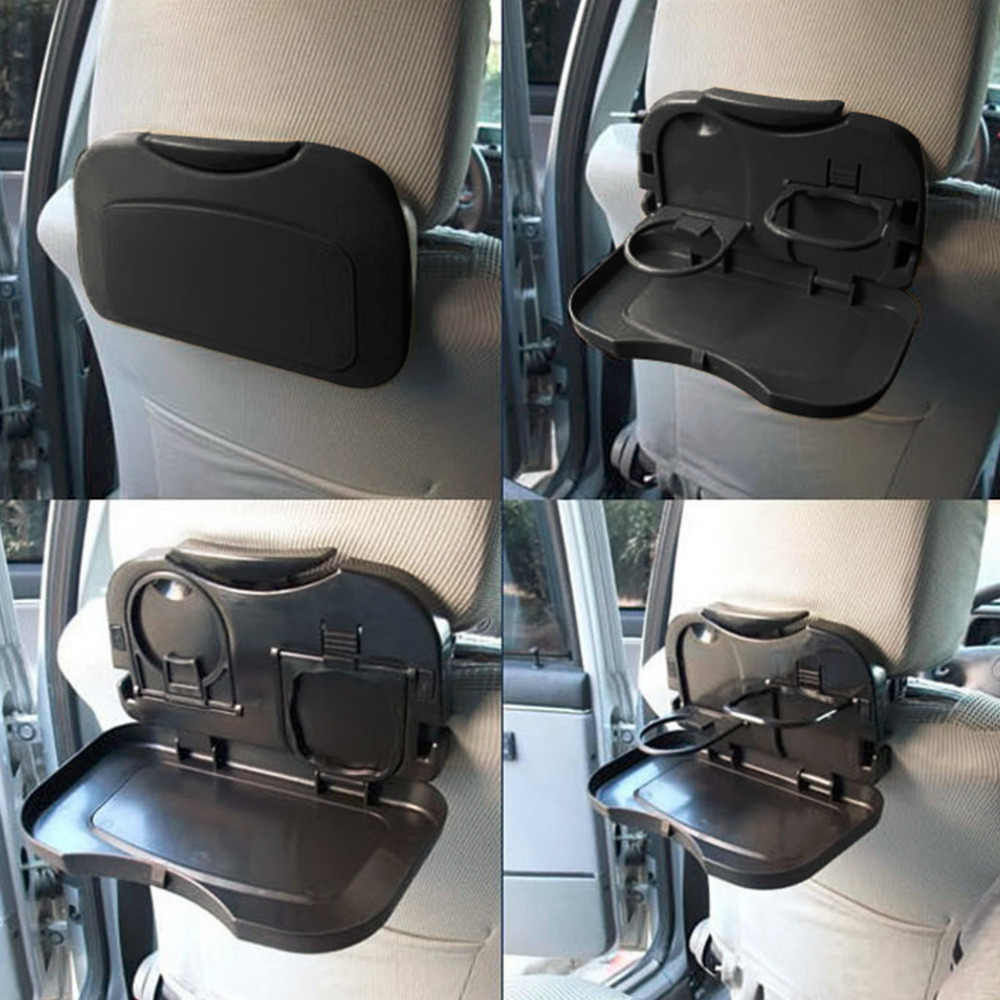 New 1pcs Folding Auto Car Back Seat Table Drink Food Cup Tray Holder Stand Desk Hot Selling Drop Shipping