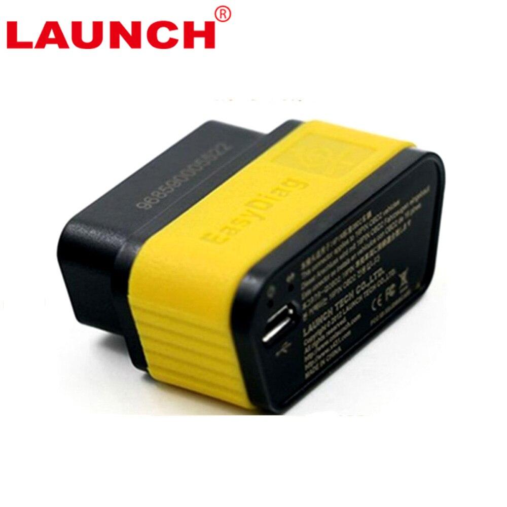 Prix pour 100% D'origine Lancement X431 EasyDiag 2.0 Auto Code Scanner Easy Launch Diag Pour Android et IOS 2 en 1