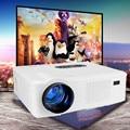 Original Excelvan CL720 Proyector LED 3000 Lúmenes 1280x800 HD LCD Proyector Con TV Analógica Interfaz Para Entretenimiento En El Hogar