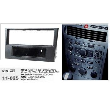 11-025 Auto SAMOCHODOWY ODTWARZACZ DVD konsola radiowa dla OPEL Astra (H) /DAEWOO Winstorm/GMC Terrain Stereo deski rozdzielczej płyta Surround CD zestaw wykończenia panelu