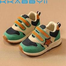 Новинка; спортивная детская обувь; детские кроссовки для мальчиков; сезон весна-осень; сетчатая дышащая повседневная обувь для девочек; кроссовки для детей