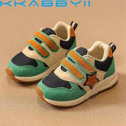 Новая спортивная детская обувь для мальчиков кроссовки весна осень сетка дышащая повседневная обувь для девочек кроссовки для детей