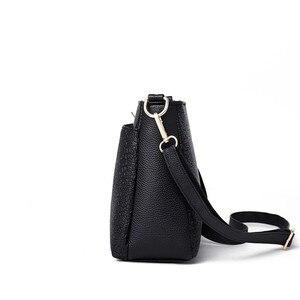 Image 3 - 2019 Women Messenger Bags Vintage Leather Shoulder Bag Female Sac A Main Crossbody Bags For Women Handbags Luxury Designer New