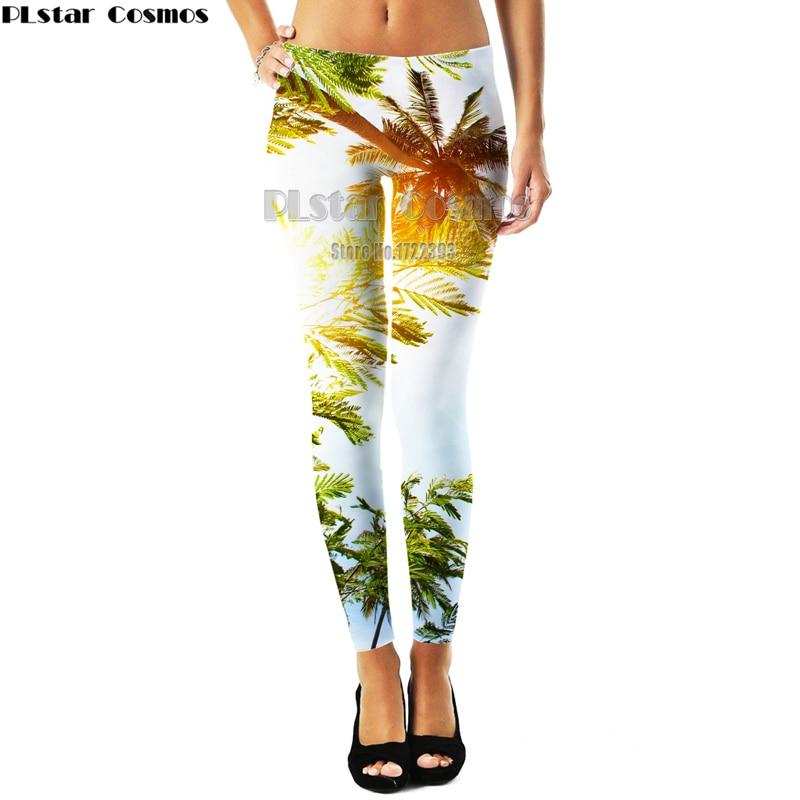 6203c249af8 Harajuku Style Patrick Star Women 3d Weeds Leaf Sunflower Leggings Womens  Plus size Workout Leggings Slim Pants Fitness Legging-in Leggings from  Women s ...
