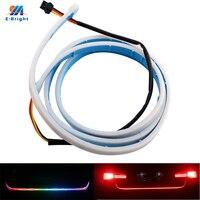 YM E Bright 1Set 120CM RGB 5050 LED Car Styling Dynamic Streamer Turn Signal Tail Trunk