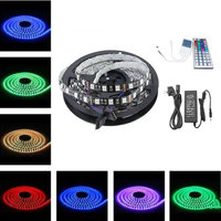 5M Flexible RGB LED Light Strip 16ft 5050 SMD 500cm 300 LEDs 60leds Meter WATERPROOF 24