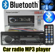 Autoradio 12V bluetooth MP3 | Lecteur Audio, Support Radio Bluetooth USB/SD MMC Port de voiture dans le tableau de bord avec télécommande, nouvelle collection 2015(China)