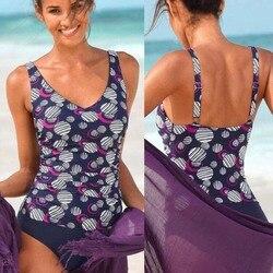 Сексуальный облегающий цельный купальник в горошек, закрытый купальник с пуш-ап размера плюс, женский купальный костюм для купания, пляжный... 3