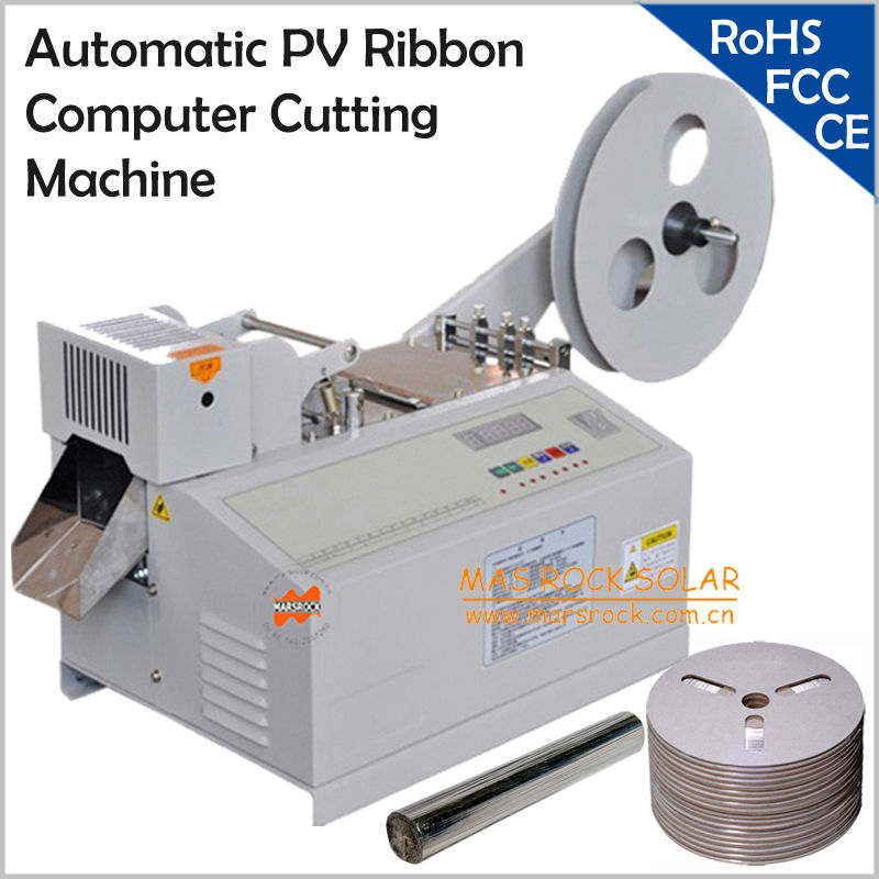 220V Automatic PV Ribbon computer Cutting Machine,Solar tabbing wire ...