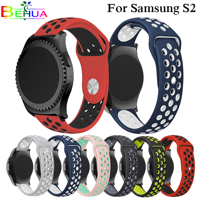 20mm Silicone Wristband watch Strap band For samsung gear s2 for Xiaomi HuaMi Am