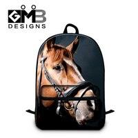 Dispalang fashion men travel bag carzy horse print school backpacks for teenagers casual laptop backpack large capacity bagpack