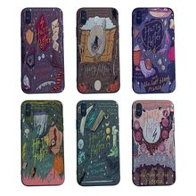 MaiYaCa Harry Potter Hogwarts Pattern Design TPU Soft Silicone Phone Cases for Iphone X XS max 7 6 6S 8 Plus 5S SE Xr cover case