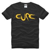 The Cure Rock Band Creative Letter Printed Men S T Shirt T Shirt Men 2016 Short