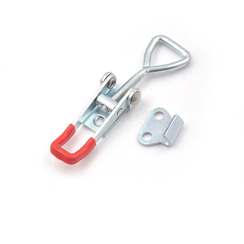 Yüksek kalite ayarlanabilir GH-4001 hızlı manivelalı kelepçe 100Kg 220Lbs kapasitesi mandalı el aleti