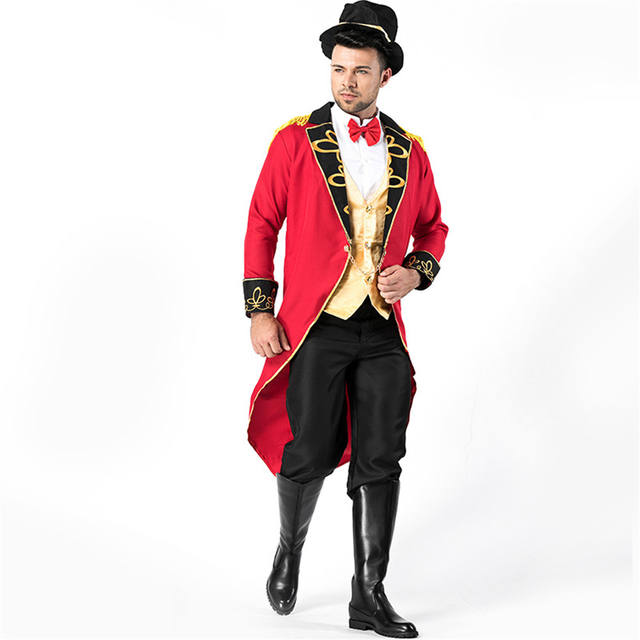 Men's Colorful Magician Costume for Halloween
