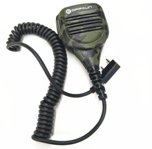 OPPXUN Портативной Рации Горячей Ручной Микрофон Динамик Водонепроницаемый IP54 для Kenwood TK2160 Walkie Talkie BAOFENG UV5RA