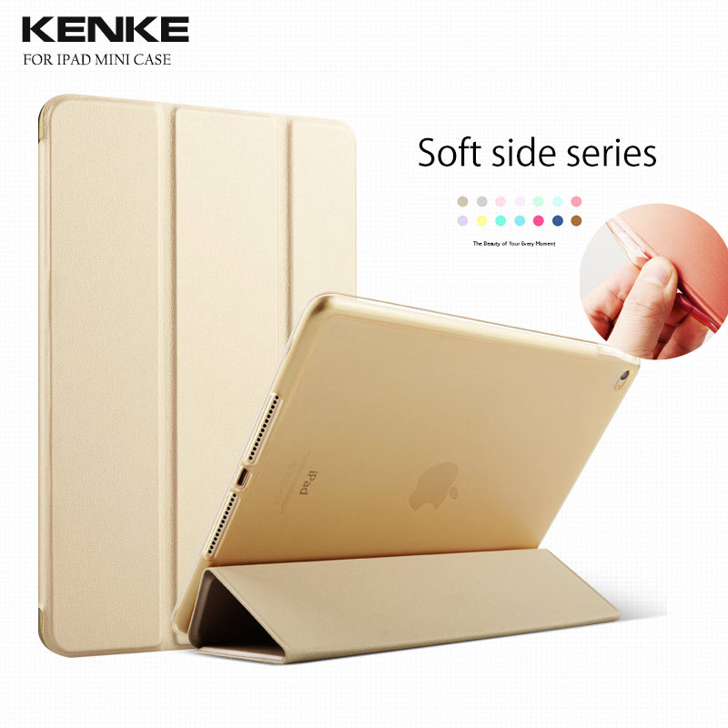 For iPad mini 1/2/3 Retina kenke Safe Armor Shockproof Silicone Case Cover Auto Sleep/Wake up for iPad mini case 2017 spring autumn women pumps sexy pointed toe suede ladies shoes big size 32 43 slip on thick heel red wedding high heels