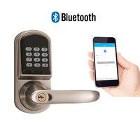 Jcsmarts электронные Bluetooth Cadeado Pin код Смарт Цифровой замок Keyless паролем для гостиницы и квартиры