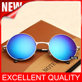 2016 Newest Female Male Round Black Retro Sunglasses Gold Beauty Vintage Circle Sun Glasses For Women Men Eyewear