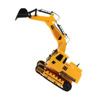 Multifunctional Remote Control Engineering Vehicle Simulated Crawler Excavator Toy With Music Light Car Model Children's Toys