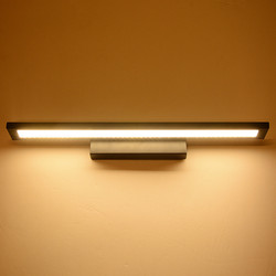 LED lustro światło przednie łazienka ściana światło u nas państwo lampy lustro ze stali nierdzewnej oświetlenie LED do pomieszczeń oprawa