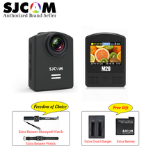 Original SJCAM M20 Gyro wifi Action camera Helmet Sports DV 2160P 24FPS NTK96660 Helmet Cam free with extra Battery and charger