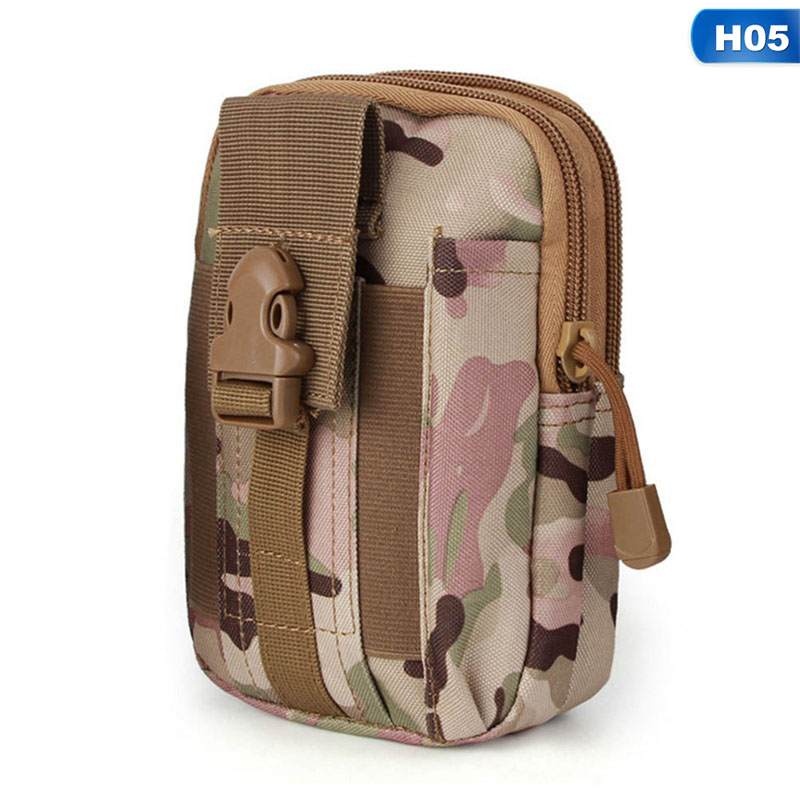 2018 Waist Belt Holster Purse Tactical Safe Utilittactical Bag Camouflage Outdoor Sports Travel Belt Mobile Phone Pockets outdoor sports pockets sv012199